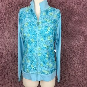 NWT Coldwater Creek Floral Light Jacket ~ Small